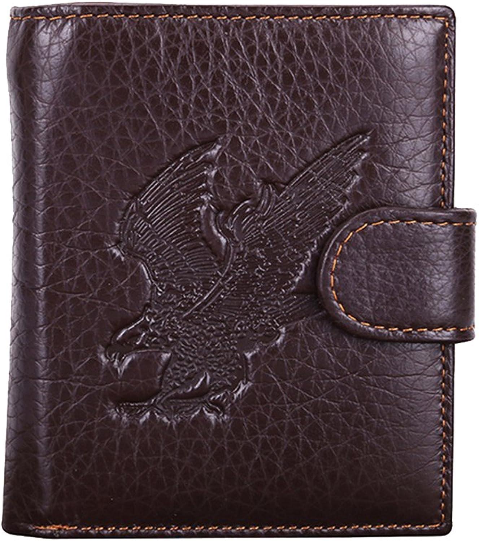 ad79dd44c309 Genda Genda Genda 2Archer RFID Blocking Mens Leather Wallet Zip ...