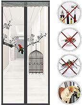 Magnetisch scherm deur met gewichten in bodem, anti-muggen Bugs Heavy Duty Mesh gordijn, magnetische vlieg scherm deur 110...