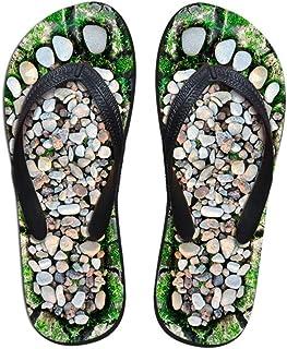 Unisex Summer Beach Slippers Two Deer Flip-Flop Flat Home Thong Sandal Shoes