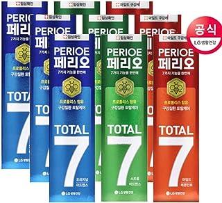 [LG HnB] Perio Total 7 toothpaste /ペリオトータル7歯磨き粉 120gx9個(海外直送品)