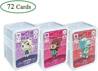 Tarjetas de juego NFC Tag para Animal Crossing, 72 piezas (N