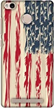 Xiaomi Redmi 3s Case,Xiaomi Redmi 3S Prime Case - USA Flag- Paint Splashes, Premium Handcrafted Designer Snap On Case Printed Hard Plastic Back Cover