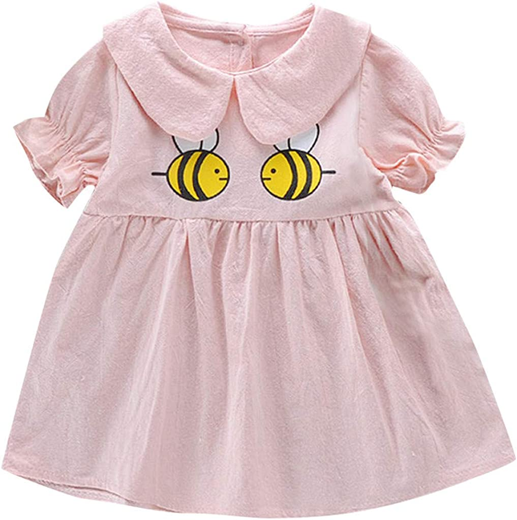 Dsood Cute Baby Dress, Kids Cotton