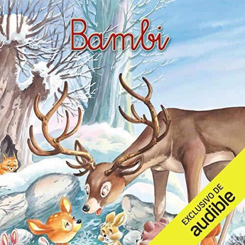 Diseño de la portada del título Bambi (Narración en Castellano)