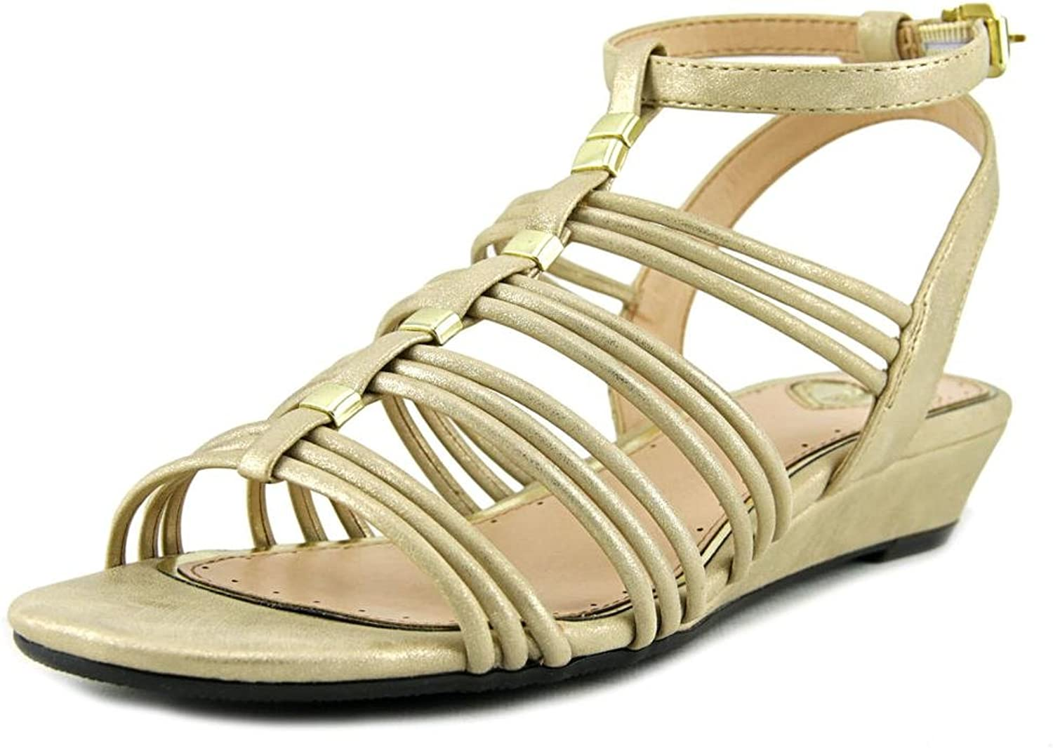 Madeline Womens Sound Open Toe Casual Ankle Strap Sandals