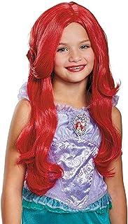 Disney Princess Ariel Little Mermaid Girls' Wig