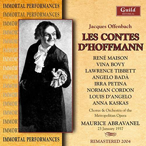 Hoffmanns Erzählungen. Les Contes d\'Hoffmann