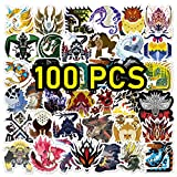Monster Hunter Stickers Monster Hunter Sticker Pack MHW Stickers (Monster Hunter Merch)