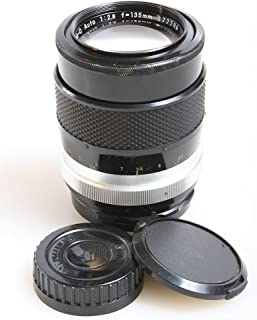 NIKON NIKKOR Q AUTO 135MM F 2.8 MF NON-AI LENS WITH FRONT AND REAR CAPS