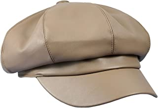 Newsboy Hat,Plain Cabbie Visor Beret Gatsby Ivy Caps for Women