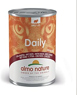 Almo Nature - Daily Cat Wet Food with Duck Flavor (400g)