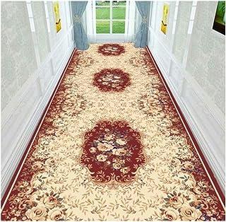 Non-Slip Carpet YANZHEN Hallway Runner Rugs Non-Slip Backing Front Door Mat Corridor Anti-Static Odorless Soft Blended Fib...