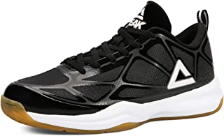 PEAK Basketball Shoes Non-Slip Low-Cap Sneakers Lightweight wear-Resistant Sports Shoes.