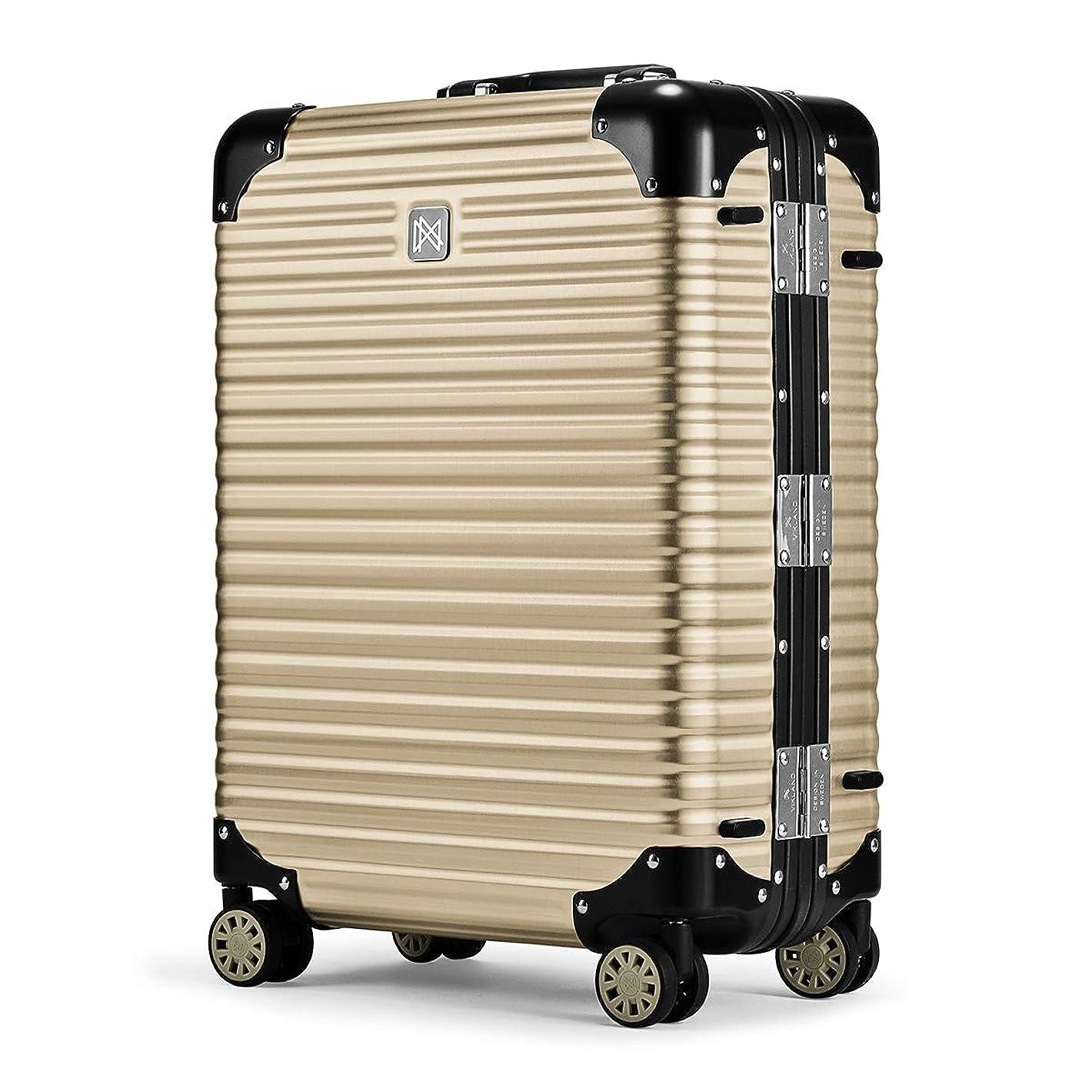 水曜日湿原遵守する[ランツォ] スーツケース ノーマン 21インチ 機内持込可 34L 49cm 4.6kg