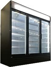 Triple Glass Hinged Door Merchandiser Upright Display Cooler