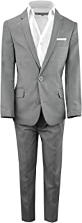 Best light gray fitted suits Reviews