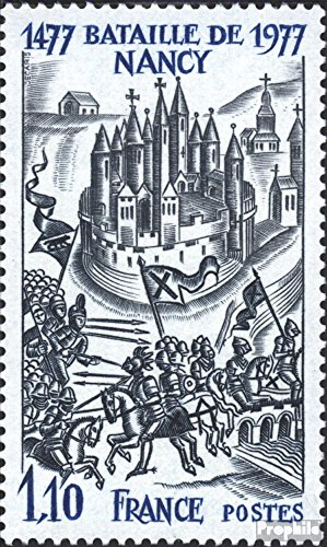 Prophila Collection Frankreich 2038 (kompl.Ausg.) 1977 Schlacht von Nancy (Briefmarken für Sammler) Militär