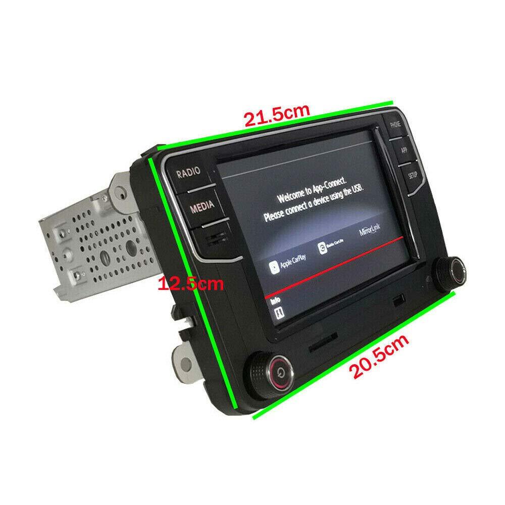 Autoradio Rcd360 Carplay Android Auto Mirrorlink Usb Fm Am Rvc Für Golf 5 6 Passat Polo Touran Sharan T5 Cc Auto