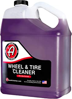 Adam�s Wheel & Tire Cleaner - Car Detailing Tire & Wheel Cleaner Car Cleaning Formula | Chrome Aluminum Clear-Coated Painted Polished & Plasti-Dipped Rim Cleaner | Tire Brush Wheel Brush Woolie