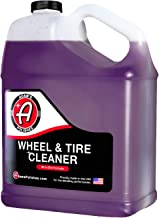 Adam's Wheel & Tire Cleaner - Car Detailing Tire & Wheel Cleaner Car Cleaning Formula | Chrome Aluminum Clear-Coated Painted Polished & Plasti-Dipped Rim Cleaner | Tire Brush Wheel Brush Woolie