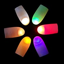URFEDA LED Vingertop Lichtgevende Heldere Kleur Laser Lichtgevende Lampen Kids Geweldige Fantastische Glow Speelgoed Kinde...