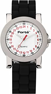 24 Hour Quartz Military Watch 1039M24-PWDS for Smaller Wrists - with Real Swiss 24-Hour Movement-24