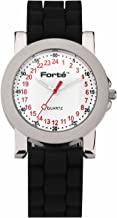 Forté 24 Hour Quartz Military Watch 1039M24-PWDS for Smaller Wrists - with Real Swiss 24-Hour Movement-24
