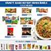 Variety Asian Instant Ramen Bundle 2.0   Samyang, Nissin, Nongshim, Mama, Mi Goreng, Acecook   Free Snacks Included   10 Packs #1