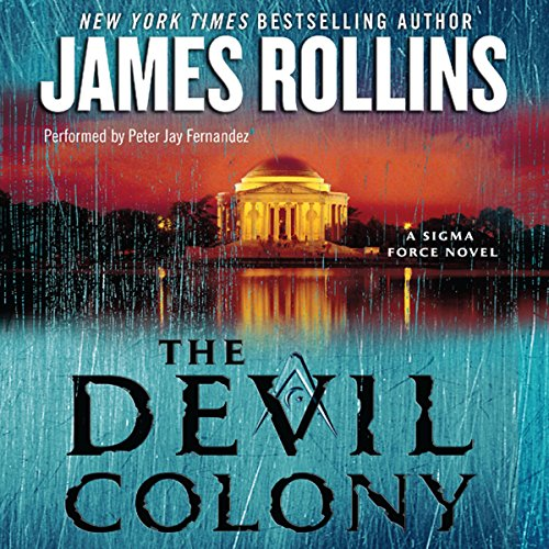 The Devil Colony audiobook cover art