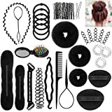 ivencase Accessori Per Capelli Pins Capelli, 28 Tipi set di acconciature Hair Styling Tool, Mix...