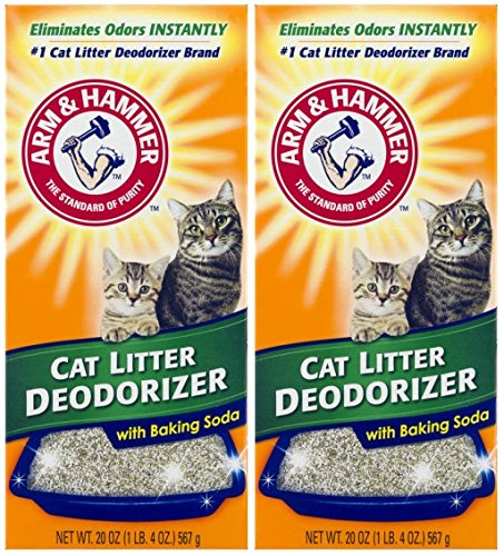 ARM & HAMMER Cat Litter Deodorizer With Activated Baking...