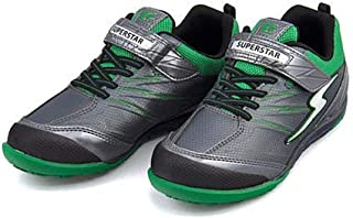 [スーパースター] バネのチカラ 男の子 キッズ 子供靴 運動靴 通学靴 スニーカー SS EE クッション性 耐久性 カジュアル スポーツ スクール 学校 J3073