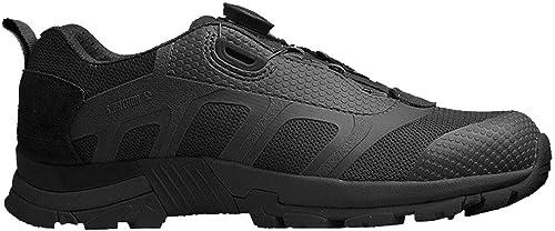 chaussuresDQ Chaussures de randonnée pour Hommes en Plein air d'été Chaussures de Sport légères et Confortables Confort sécuritaire (Couleur   noir, Taille   43)