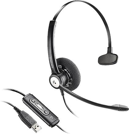 Plantronics 201595-13 Entera USB HW111N - Cuffia Monoaurale, Nero - Trova i prezzi più bassi