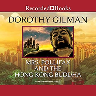 Mrs. Pollifax and the Hong Kong Buddha audiobook cover art