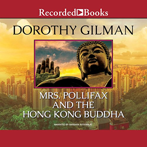 Mrs. Pollifax and the Hong Kong Buddha audiobook cover art