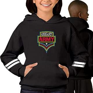 Youth/Kid Hooded Stugotz Army Sweatshirt Fleece Pullover Hood