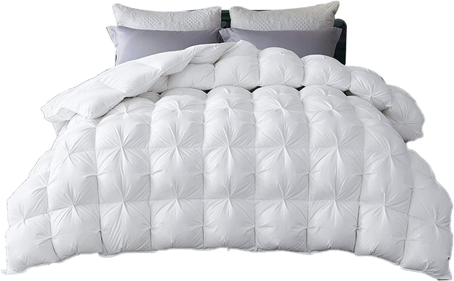 zzlamb White Pinch Pleat National online shopping uniform free shipping Goose Down for Season All Im Comforter