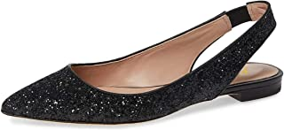 Women Pointed Toe Slingback Ballet Flats Low Heel Slide Sandals Comfortable Slip On Dress Pumps