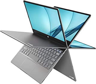 BMAX 2 in 1 Convertible Laptop, 11.6 inch FHD (1920 X 1080) IPS Touchscreen, Intel Quad Core N4120, 8GB DDR4, 256GB SSD, U...