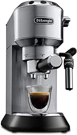 De'longhi Dedica Style Pump Coffee Machine, EC685M