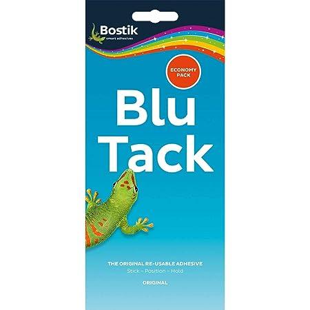 Bostik Blu-Tack Lot de 2 pratique