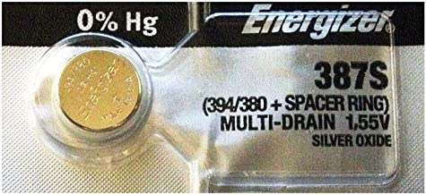 Energizer 387S Low-Drain 1.55V Silver-Oxide Button Cell Battery