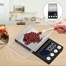 Sanwooden Precise Digital Scale Portable Precision Digital Milligram Jewelry Weight Electronic Measuring Scale Digital Scale