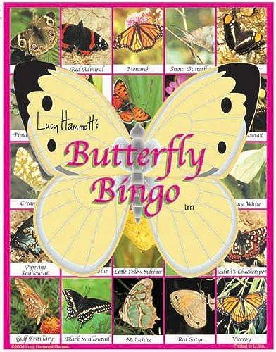 liquidación hasta el 70% Lucy Hammett 3677 Butterfly Bingo Bingo Bingo  calidad auténtica