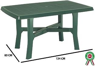 Produzione Tavoli In Plastica.Amazon It Tavoli Plastica Da Giardino Casa E Cucina