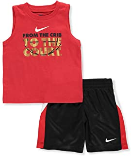 Nike Kids From The Crib To Court Short Sleeve Shorts Set