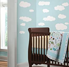 Asian Paints Nilaya Clouds (White Bkgnd) wall stickers