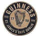 Guinness - Salvamanteles de Corcho