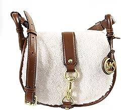 MICHAEL Michael Kors Women's Shearling Jamie Saddle Bag